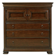 Universal Furniture Reprise 3 Drawer Chest in Classical Cherry 581175