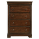 Universal Furniture Reprise 4 Drawer Chest in Classical Cherry 581155