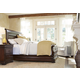 Universal Furniture Reprise 4pc Sleigh Bedroom Set in Cherry