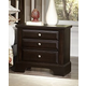 Virginia House Bedford Two Drawer Nightstand in Merlot BB88-226