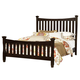 Virginia House Bedford King Poster Bed in Merlot