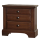 Virginia House Bedford Two Drawer Nightstand in Cherry BB89-226
