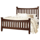 Virginia House Bedford Queen Poster Bed in Cherry