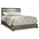 Durham Furniture Cascata Queen Upholstered Bed in Coastal Fog