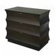 Durham Furniture Cascata Bedside Chest in Molten Night 161-203-MNNT