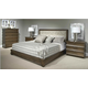Durham Furniture Cascata 4-Piece Upholstered Bedroom Set in Autumn Wind