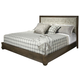 Durham Furniture Cascata King Upholstered Bed in Autumn Wind