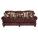 Jackson Belmont Sofa in Claret 4347-03