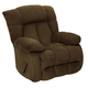 Catnapper Laredo Chaise Rocker Recliner in Chocolate 4609-2