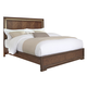Pulaski Chrystelle King Panel Bed in Cognac