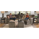 Jackson Furniture Everest 3pc Modular Sectional Living Room Set in Seal