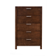 Alpine Furniture Austin Chest in Chestnut 1600-05