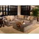 Jackson Furniture Everest 4pc Modular Sectional Living Room Set in Seal