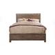 Alpine Furniture Sydney King Panel Bed in Weathered Grey 1700-07EK