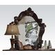Acme Versailles Mirror in Cherry Oak 21104