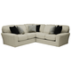 Jackson Furniture Everest 3pc Sectional Living Room Set in Ivory