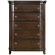 Magnussen Langham Place Wood Drawer Chest in Warm Chestnut B3532-10
