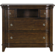 Magnussen Langham Place Wood Media Chest in Warm Chestnut B3532-36