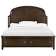Magnussen Langham Place Queen Storage Bed in Warm Chestnut