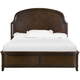 Magnussen Langham Place King Panel Bed in Warm Chestnut