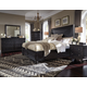 Magnussen Hyland Park 4-Piece Island Bedroom Set in Vintage Black