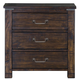 Magnussen Pine Hill Drawer Nightstand in Rustic Pine B3561-01