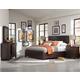 Magnussen Pine Hill 4-Piece Panel Bedroom Set in Rustic Pine