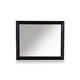A.R.T. Cosmopolitan Landscape Mirror in Ebony 208121-1815