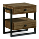 A.R.T. Epicenters Williamsburg Nightstand in Light Oak 223140-2302