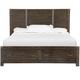 Magnussen Pine Hill Queen Storage Bed in Rustic Pine