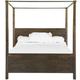 Magnussen Pine Hill Queen Canopy Bed in Rustic Pine