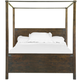 Magnussen Pine Hill California King Canopy Bed in Rustic Pine