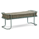 A.R.T. Epicenters Williamsburg Bed Bench in Blue 223149-2621