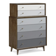 A.R.T. Epicenters Silver Lake Drawer Chest in Walnut 223151-1812