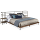 A.R.T. Epicenters Factory King Platform Bed w/ 2 Nightstands 223166-2302