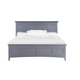Magnussen Graylyn King Panel Bed in Steel Drum
