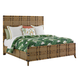 Tommy Bahama Home Twin Palms Coco Bay California King Panel Bed in Medium Umber 01-0558-135C