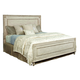 American Drew Southbury King Panel Bed in Fossil and Parchment 513-306R