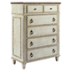 American Drew Southbury 5 Drawer Chest in Fossil and Parchment 513-215
