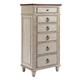 American Drew Southbury 6 Drawer Lingerie Chest in Fossil and Parchment 513-221