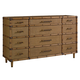 Tommy Bahama Home Twin Palms Windward Dresser in Medium Umber 01-0558-233