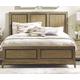 American Drew Evoke Queen Panel Bed in Barley 509-304R