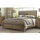 American Drew Evoke King Upholstered Bed in Barley 509-316R