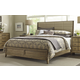 American Drew Evoke California King Upholstered Bed in Barley 509-317R
