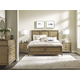American Drew Evoke 4pc Panel Bedroom Set in Barley