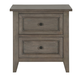 Magnussen Talbot Drawer Nightstand in Driftwood B3744-01