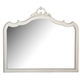 Magnussen Davenport Shape Mirror in Weathered Parchment B3787-45