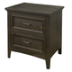 Magnussen Mill River Drawer Nightstand in Weathered Charcoal B3803-01