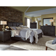 Magnussen Mill River 4-PiecePanel Bedroom Set in Weathered Charcoal