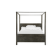 Magnussen Abington Queen Poster Bed in Weathered Charcoal